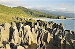 Pancake Rocks, Paparoa National Park, Punakaiki, West Coast, South Island, New Zealand, Pacific