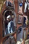 Cadres à vendre, Souk de la Medina, Marrakech, Maroc, l'Afrique du Nord, l'Afrique