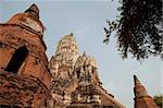 Wat Ratburana, Ayutthaya, UNESCO World Heritage Site, Ayutthaya Province, Thailand, Southeast Asia, Asia