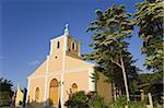 San Juan Bautista Church in San Juan Del Sur, Department of Rivas, Nicaragua, Central America
