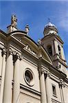 Cathédrale de la vieille ville, quartier de Montevideo, en Uruguay, en Amérique du Sud