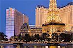 De Bally et Paris Casinos, Las Vegas, Nevada, États-Unis d'Amérique, l'Amérique du Nord