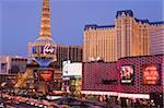 Miracle Mile Shops et le Casino de Paris, Las Vegas, Nevada, États-Unis d'Amérique, l'Amérique du Nord