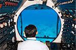 Atlantis submarine, Isla de Cozumel (Cozumel Island), Cozumel, off the Yucatan, Quintana Roo, Mexico, North America