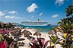 Beach at Park Royal Hotel, Isla de Cozumel (Cozumel Island), Cozumel, off the Yucatan, Quintana Roo, Mexico, North America