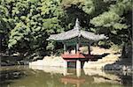 Secret Garden, Changdeokgung Palace (Palais de la vertu illustre), Site du patrimoine mondial de l'UNESCO, Séoul, Corée du Sud, Asie