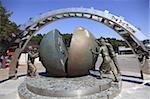 Troisième Tunnel creusé par les Coréens du Nord d'envahir la Corée du Sud, près de Panmunjom, Zone démilitarisée (DMZ), Corée du Sud, Asie