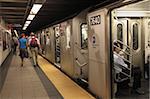 Subway, Manhattan, New York City, United States of America, North America