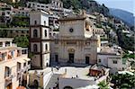 Plus sur l'église de Santa Maria à Positano, Costiera Amalfitana, UNESCO World Heritage Site, Campanie, Italie, Europe