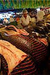 Au marché central de Manaus, au Brésil, en Amérique du Sud