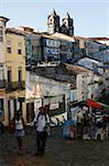 Pelourinho district, Salvador de Bahia, Brazil, South America