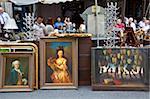 Flea market, rue Mouffetard, Paris, France, Europe