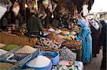 Lebensmittelgeschäft, Medina, Oujda, orientalische Region, Marokko, Nordafrika, Afrika