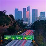 Route 110, Los Angeles, Californie, États-Unis d'Amérique, Amérique du Nord