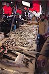Marché aux poissons, Rialto, Venise, Vénétie, Italie, Europe