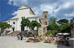 Piazza Del Duomo, Ravello, Amalfi Coast, UNESCO World Heritage Site, Campania, Italy, Europe