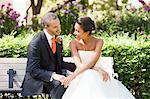Braut und Bräutigam, Toronto, Ontario, Kanada