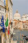 Grand canal et Santa Maria della Salute, Venise, Italie