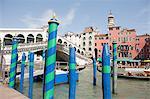 Pont du Rialto et le grand canal, Venise, Italie