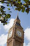 Big Ben clock tower, Westminster, London