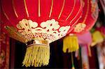 Lanterns in chinatown, London