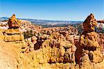 Formation rocheuse de grès, Parc National de Bryce Canyon, Utah, USA
