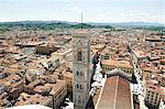 Campanile de Santa Maria del Fiore, Florence, Italie