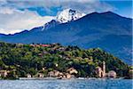 Lenno, lac de Côme, Lombardie, Italie