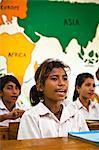 Girls in Classroom, Larawatu School, Sumba, Indonesia