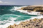 Rocks and sea, Curacao, Antilles