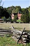 English Farm Exhibit, Frontier Culture Museum, Staunton, Virginia, USA