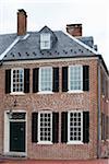 Maison extérieur, Front Royal, Virginia, Etats-Unis