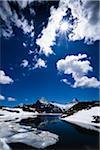 Bachalpsee, région de la Jungfrau, Oberland bernois, en Suisse