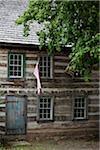 Original maison Timberframe, nord-ouest de la Virginie, USA
