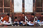 Scène Hard tirée de la Tamshingphala à Bumthang, Bhoutan