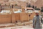 Egypt, Sinai, St Catherine's monastery. Arab boy.