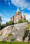 Cathédrale d'Uspenski, Helsinki, Finlande