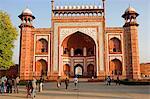 Southgate pour le Taj Mahal, Agra, Inde