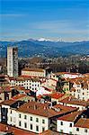 Italie Toscane Lucca Torre Ronzini tour