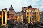 Church basilica,Arco di Settimio Severo