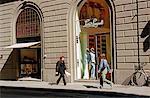 Italy,Tuscany,Florence. Italian boutiques.