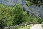Walking in the Central Massif, Picos de Europa, Spain