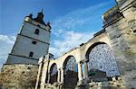 Ruines de la cathédrale, Kamyanets-Podilsky, arménien Podolie, Ukraine