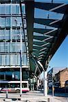 Transport Interchange, Manchester. Architectes : Ian Simpson Architects