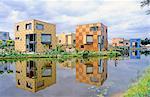 Netherlands, Overijssel, Enschede, residentials in Eschmarke quarter