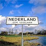 Overijssel, Nederland village.