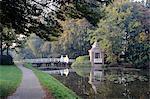 Netherlands, Utrecht, autumn in park around Slot Zeist