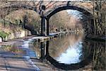 Macclesfield-Brücke, aka 'Blow up Brücke', Regent's Canal, in der Nähe von Regent's Park, London, NW1, England