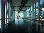 Dublin Airport, Terminal 2. Corridor. Architects: Pascall and Watson Architects LTD