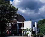 Rietveld Schroder House, Prins Hendriklaan 50, Utrecht, 1924. Architects: Gerrit Rietveld